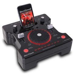 DJ STATION MINI CONSOLE PROCESSORE EFFETTI FX con fader - master - mic e cuffie