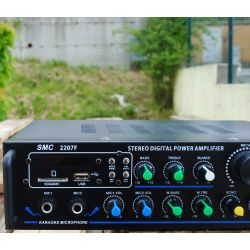"AMPLIFICATORE KARAOKE 5 CANALI ""DELUXE"" STEREO 500W BLUETOOTH USB SD FM - 4"