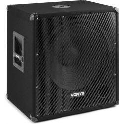 "SUBWOOFER AMPLIFICATO PA SUB ATTIVO DJ PALCO 600W WOOFER 15"" (38 CM)"