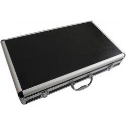 VALIGIA MULTIUSO DJ PIANOBAR 45x27.5x8cm FLIGHCASE FLIGHT CASE MICROFONI CUSTODIA MIXER