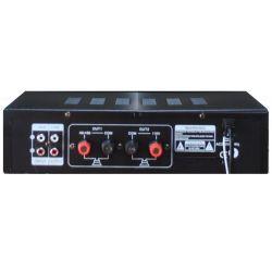 AMPLIFICATORE COMBO 100V / 4-16 OHM 400W BLUETOOTH + TELECOMANDO + DISPLAY + USB/SD - 3