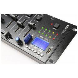 MIXER 3 CANALI CON BLUETOOTH + DISPLAY + USB/SD + FUNZIONE RECORDING MIX - 5