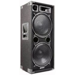 "CASSA ACUSTICA PASSIVA PALCO DJ 1400w 3 VIE BASS REFLEX 2 X 12"" MOQUETTE - 1"