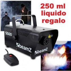 MACCHINA DEL FUMO PROFESSIONALE 500W CON TELECOMANDO art 160436 - 1