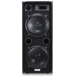 "CASSA ACUSTICA PASSIVA PALCO DJ 1400w 3 VIE BASS REFLEX 2 X 12"" MOQUETTE"