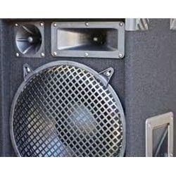 "CASSA ACUSTICA PASSIVA 2000W 2 X 15"" DIFFUSORE FULL RANGE IN MOQUETTE"