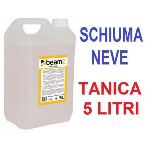 TANICA 5 LT. LIQUIDO UNIVERSALE MACCHINA NEVE SCHIUMA SNOW BEAMZ - 1