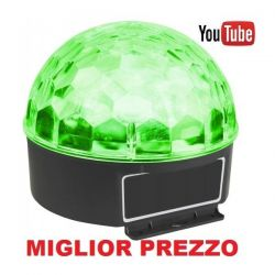 EFFETTO LUCE Max JELLY BALL A LED MULTICOLORE art. 153225 - 1