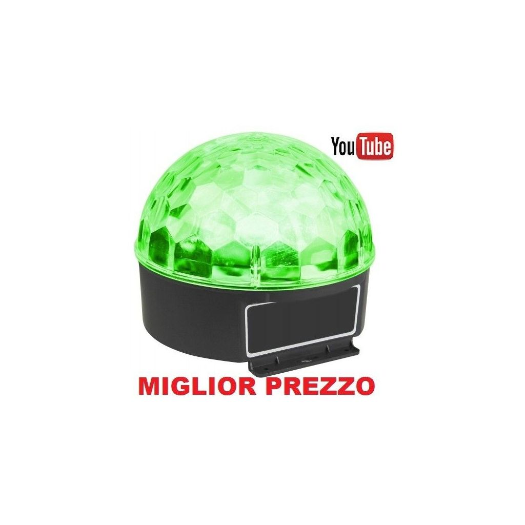 EFFETTO LUCE Max JELLY BALL A LED MULTICOLORE art. 153225 - 1
