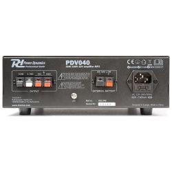 IMPIANTO AUDIO ATTIVO FILODIFFUSIONE 100V amplificatore + 8 altoparlanti incasso + matassa 100 mt. - 3