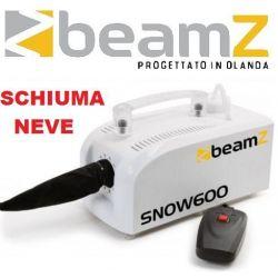 MACCHINA SCHIUMA / NEVE SNOW 600W CON TELECOMANDO EFFETTO LUCE - 1
