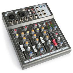 MIXER DJ STUDIO KARAOKE PIANOBAR PROFESSIONALE MIX con usb + effetti