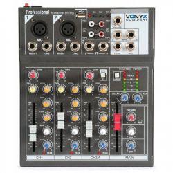 """IMPIANTO AUDIO COMPLETO ATTIVO AMPLIFICATO 1200W: casse 12"""" + 2 stativi + mixer + cavi 8 metri - 5"""