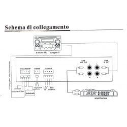 CAR METER MISURATORE AUTO TUNING AUDIO dB - VOLTMETRO - TEMP. AMPLIFICATORE 1 DIN - 4