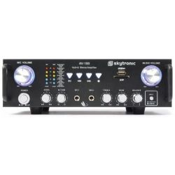 AMPLIFICATORE PER KARAOKE STEREO 2 CANALI USB SD 300 WATT MAX ART. 103208 - 3