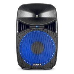IMPIANTO AUDIO SISTEMA ATTIVO 800W casse amplificate + stativi + accessori - 4
