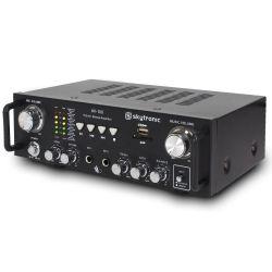 AMPLIFICATORE PER KARAOKE STEREO 2 CANALI USB SD 300 WATT MAX ART. 103208 - 6