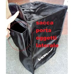 CUSTODIA PROTEZIONE COPERTURA SACCA X CASSE AMPLIFICATE PASSIVE 57x35x32 cm
