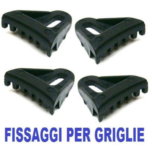 4 PZ. STAFFA FISSAGGIO GRIGLIE PER CASSE ACUSTICHE ATTIVE O PASSIVE - 1