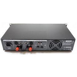 AMPLIFICATORE PROFESSIONALE VENTILATO 960W stereo BLACK SERIES art 172032 - 4