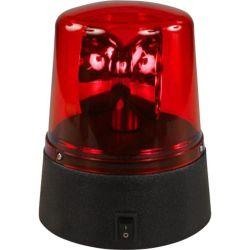 LAMPEGGIANTE A LED POLIZIA LUCE ROSSA DJ PARTY DA CASA (A BATTERIE) - 1