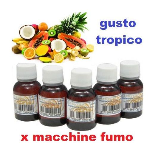PROFUMO ESSENZA FRAGRANZA GUSTO TROPICO X MACCHINE FUMO art. 160653