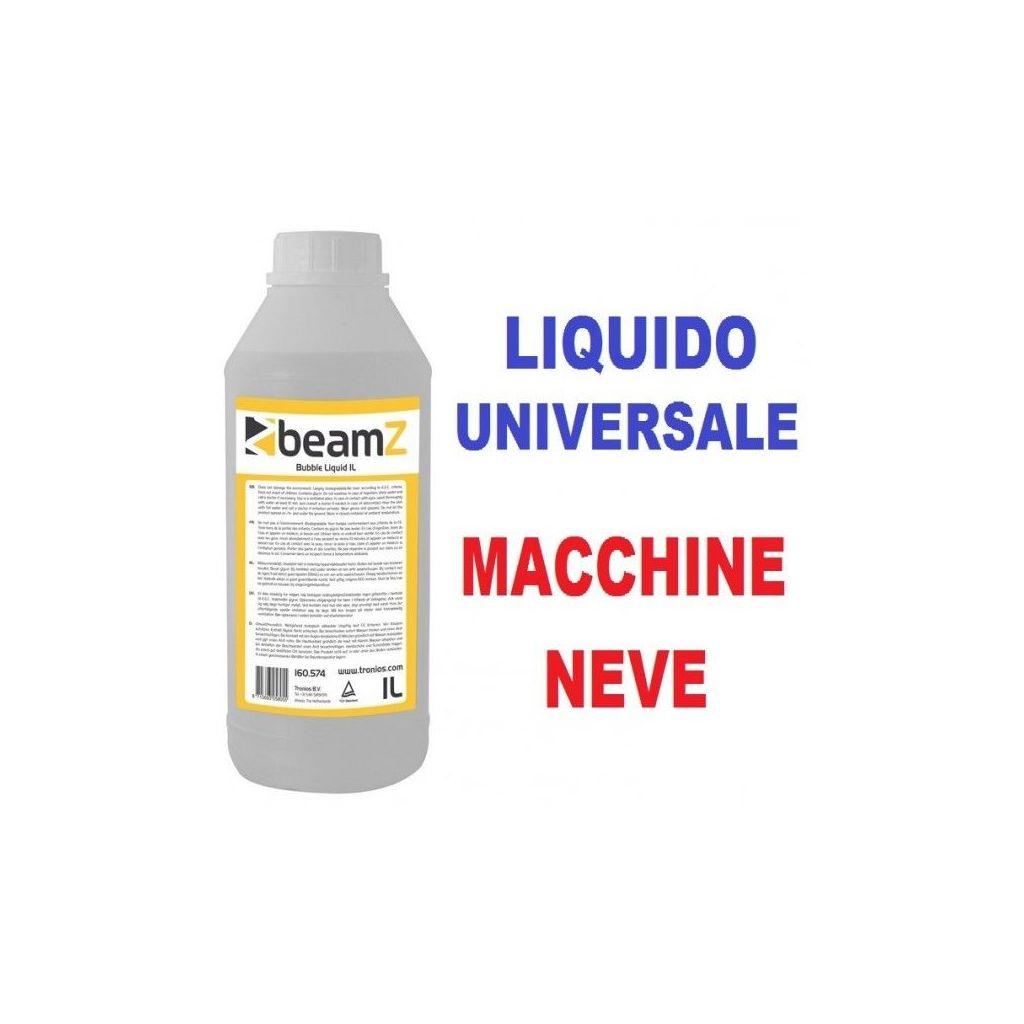 LIQUIDO UNIVERSALE PER MACCHINE NEVE SCHIUMA GHIACCIO 1 LITRO - 1