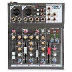 """IMPIANTO AUDIO AMPLIFICATO COMPLETO 2 casse abs 800w 10"""" + 1 mixer + 2 stativi con borsa + 2 cavi ART. SET178024MIX - 4"""