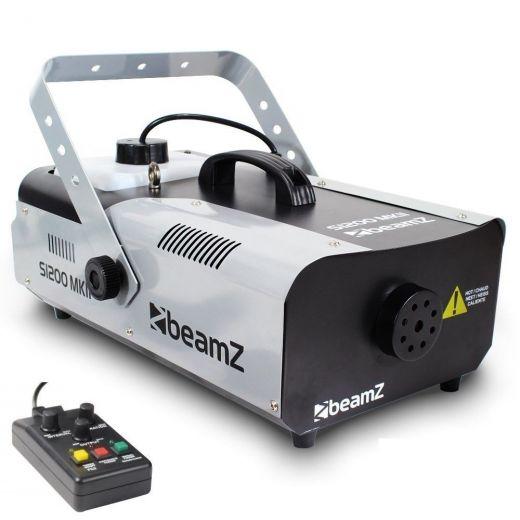 MACCHINA FUMO wireless 1200 WATT VERSIONE PROFESSIONALE CON TELECOMANDO ART 160491 - 1