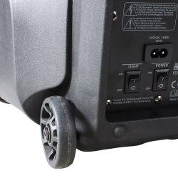 """CASSA AMPLIFICATA 450W 10"""" BLUETOOTH + BATTERIA + MICROFONO WIRELESS + USB - 7"""