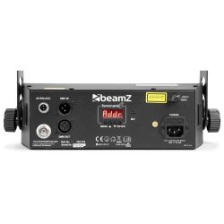EFFETTO LUCI PSICHEDELICHE DMX DJ PALCO 3in1 strobo + laser + led RGBW - 3