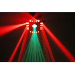 """effetto LED-DMX multicolore """"CUBE4"""" art 153701 - 3"""