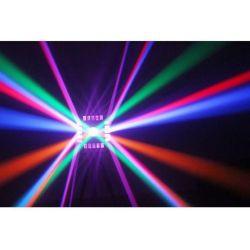 """effetto LED-DMX multicolore """"CUBE4"""" art 153701 - 4"""