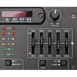MIXER 3-4 CANALI PRO CON BLUETOOTH + EFFETTI VOCE + INGRESSO USB-SD EQUALIZZATO art. 172982 - 4