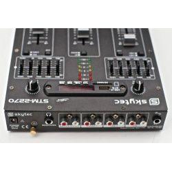 MIXER 3-4 CANALI PRO CON BLUETOOTH + EFFETTI VOCE + INGRESSO USB-SD EQUALIZZATO art. 172982 - 5