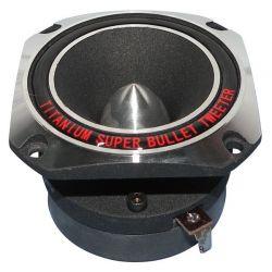 SUPER TWEETER TITANIO 160W MAX COMPRESSIONE 104dB ACUTO DRIVER RICAMBIO CASSE - 4