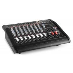 MIXER AUDIO AMPLIFICATO 1000W 8 canali CON EFFETTI FX DSP+ USB dj pianobar - 4