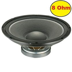 "WOOFER PROFESSIONALE 8"" (21 CM) 200W 8 OHM ricambio casse acustiche"