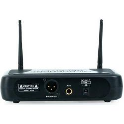 COPPIA MICROFONI WIRELESS VHF A BI CANALI frequenze VHF art 179183 - 5