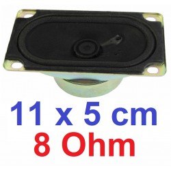 ALTOPARLANTE RICAMBIO 11 X 5 CM COASSIALE casse acustiche tv radio - 1