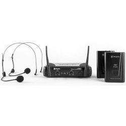 COPPIA MICROFONI ARCHETTO VHF PROFESSIONALI WIRELESS art 179178 - 2