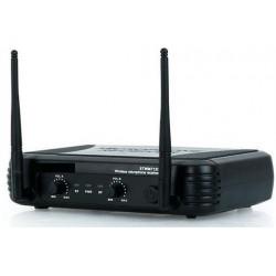 COPPIA MICROFONI WIRELESS VHF A BI CANALI frequenze VHF art 179183 - 4