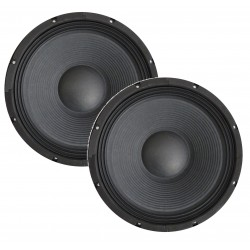 "COPPIA WOOFER 4 Ohm PROFESSIONALI 500W 26 CM 10"" ART. cps104"
