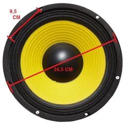"WOOFER PROFESSIONALE 150W DIAMETRO 26 CM (10"") 8 OHM ricambio casse acustiche - 5"