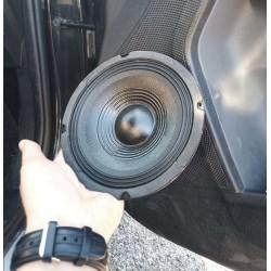 """COPPIA WOOFER 200w 6,5"""" (16,5 CM) X CASSE O PREDISPOSIZIONI SPORTELLO AUTO - 5"""