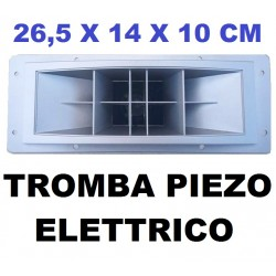 TWEETER TROMBA RICAMBIO PIEZO ELETTRICO 250w SILVER ACUTI PER CASSE ACUSTICHE - 1