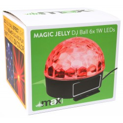 EFFETTO LUCE Max JELLY BALL A LED MULTICOLORE art. 153225 - 3