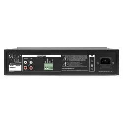 AMPLIFICATORE 100V IBRIDO 4-16 OHM FILODIFFUSIONE LINEA BLUETOOTH + RADIO + USB - 7