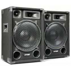 """COPPIA CASSE ACUSTICHE PASSIVE PROFESSIONALI 1400W 12"""" (31 CM) DJ PALCO DIFFUSORI - 1"""