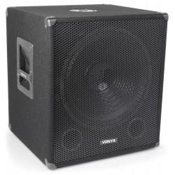 SUBWOOFER PA AMPLIFICATO ATTIVO DJ DEEJAY 600W | CON 2 USCITE ATTIVE - 4
